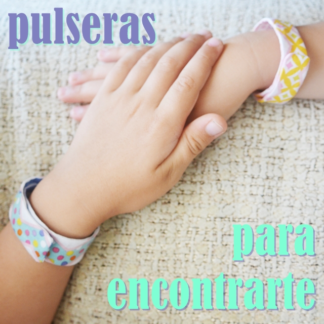 Pulseras indentificativas diy