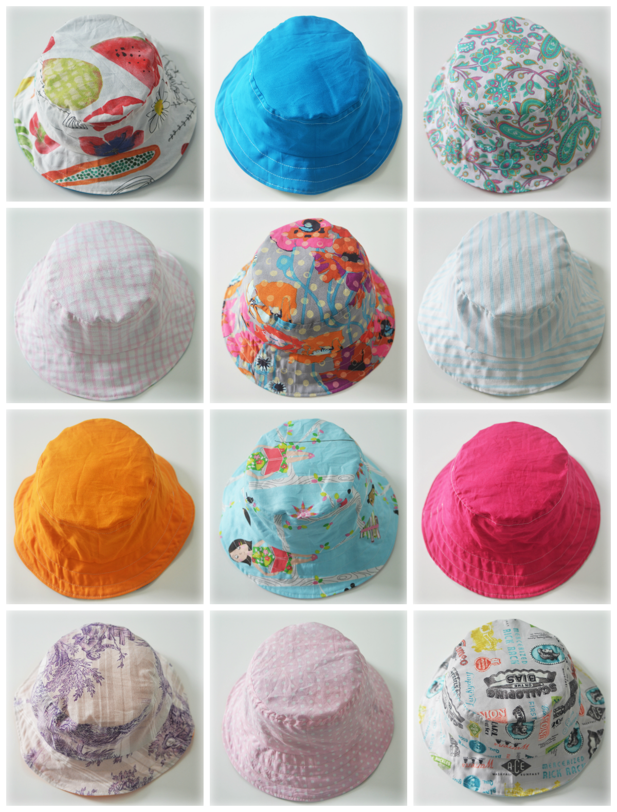 collage bucket hat ok