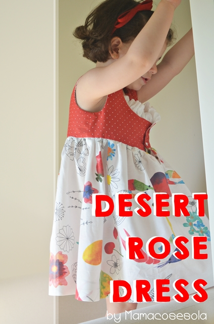 desert rose dress by mamacosesola 6