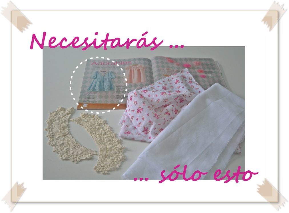 materiales vestido cantiere by mamacosesola
